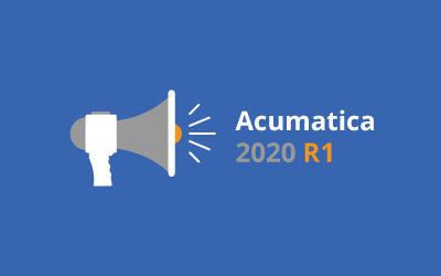 New Features Coming to Acumatica in March's 2020 R1 Update